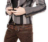 Fashion men pants, a shirt — Stok fotoğraf