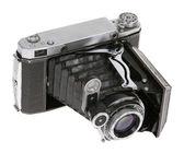 """Dusty old Soviet camera """"Moscow 5"""" — Stock Photo"""