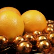 Oranges and gold — Stock Photo