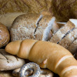 Loaf of bread over background — Stock Photo #3176583