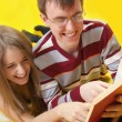 Students read books — Stock Photo #3177679