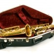 Alto sax — Stock Photo