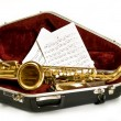 Alto sax - Stock Photo