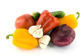 Summer vegetables — Stock Photo