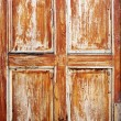 Brown texture of old door - Stock Photo