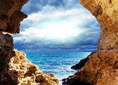 Tempête sur la mer — Photo