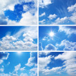 Foto de Stock  : Sky collection