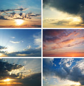 Coucher de soleil collection — Photo
