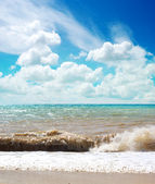Beautiful sea landscape — Foto Stock