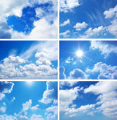 Sky collection — Stockfoto