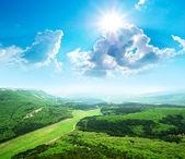 Beautiful mountain landscape. — Stock Photo