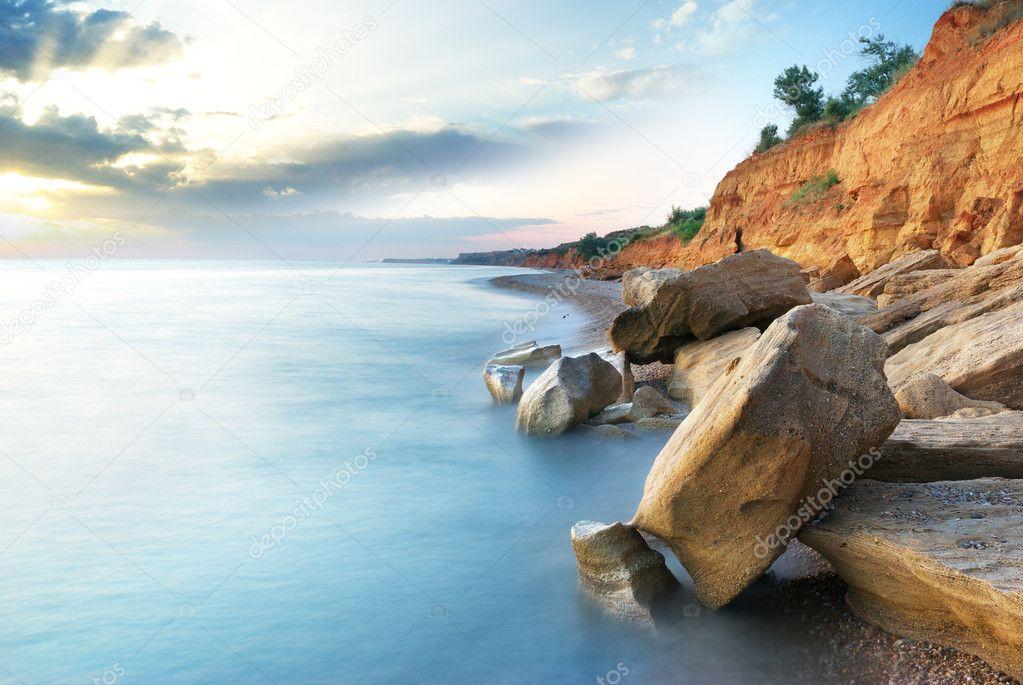 Beautiful sea landscape � Stock Photo � zatvor #3529043