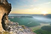 Grotte dans la montagne — Photo