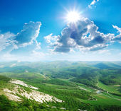 Landscape in mountain — Stock Photo