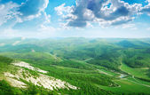 Landscape in mountain — Foto Stock