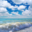 Beautiful coast of beach at day. Nature composition. - Stock Photo