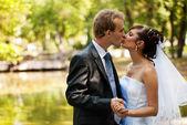 Newlyweds — Стоковое фото