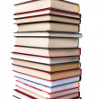 Stack of books isolated on the white — Stock Photo #2695753