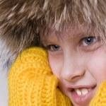 Little boy winter portrait — Stock Photo #2858281