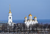 Cathedral at Vladimir in Russia — Stock Photo