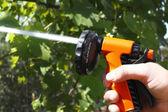 Gun for watering — Stock Photo