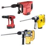 Electric tools set — Stock Photo