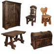 Stock Photo: Furniture set