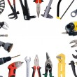 Tools background - Foto Stock