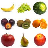Vzorkovník ovoce — Stock fotografie