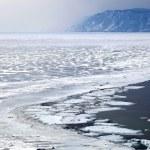 Frozen Lake Baikal — Stock Photo #2861928