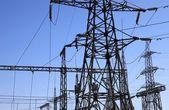 Elektrisk kraftstation — Stockfoto