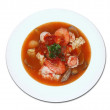 Stock Photo: Seafood soup