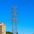 Electricity pylons - Stock Photo