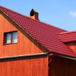 Part of a rural house — Stock Photo