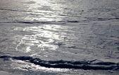 Zamrzlé jezero — Stock fotografie