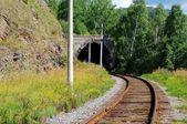 çevre baykal demiryolu — Stok fotoğraf