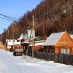 Listvianka settlement — Stock Photo