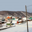 Listvianka settlement, Lake Baikal, Russia. — Stock Photo #3334365