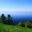 Lake Baikal, summer. - Stock Photo