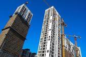 Casas en construcción — Foto de Stock