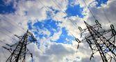Iki elektrik direkleri — Stok fotoğraf
