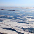 Frozen Lake Baikal. Winter. — ストック写真