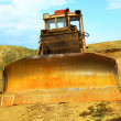 Old bulldozer — Stock Photo #3726945