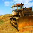 Old bulldozer — Stock Photo #3744954