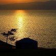 Sunset. Lake Baikal. — Stock Photo