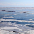 Stock Photo: Frozen Lake Baikal. Winter.