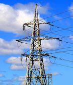 Elektřina pylonu — Stock fotografie
