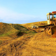 Old bulldozer — Stock Photo