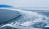 贝加尔湖。春天. — 图库照片
