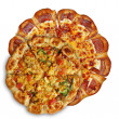 Two pizzas — Foto Stock